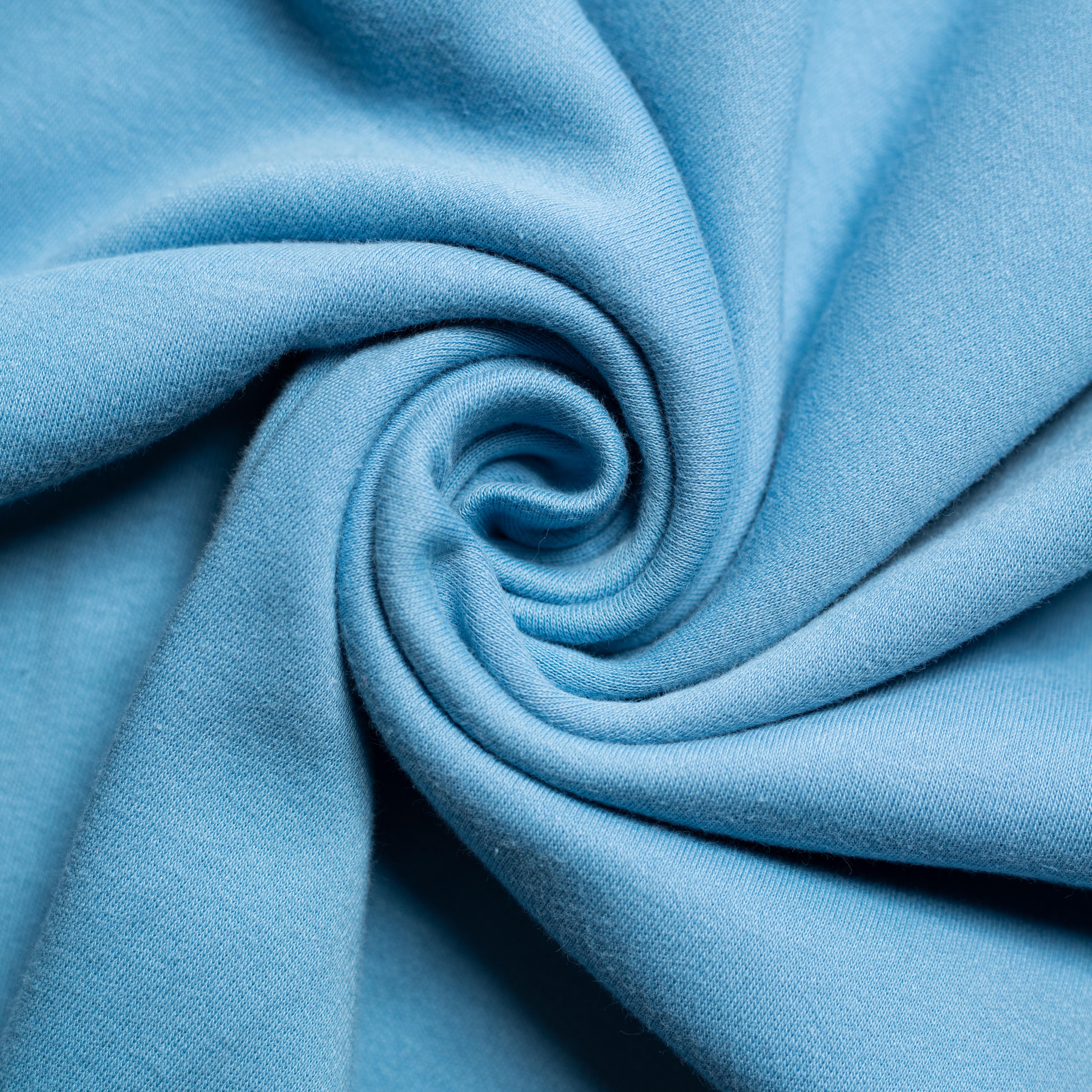 Periwinkle Solid Interlock Knit