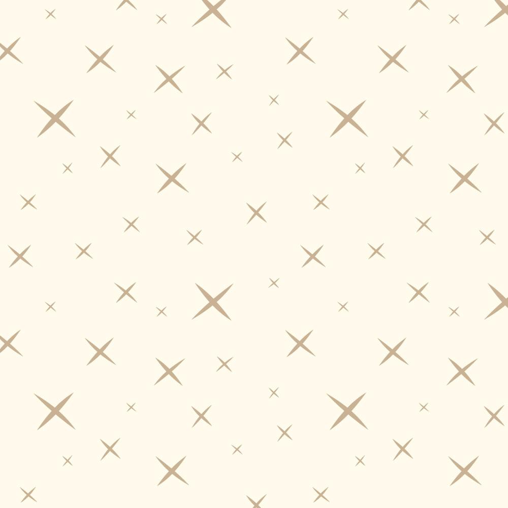 Hoshi Cream/Fawn 112″ Wide Back Poplin