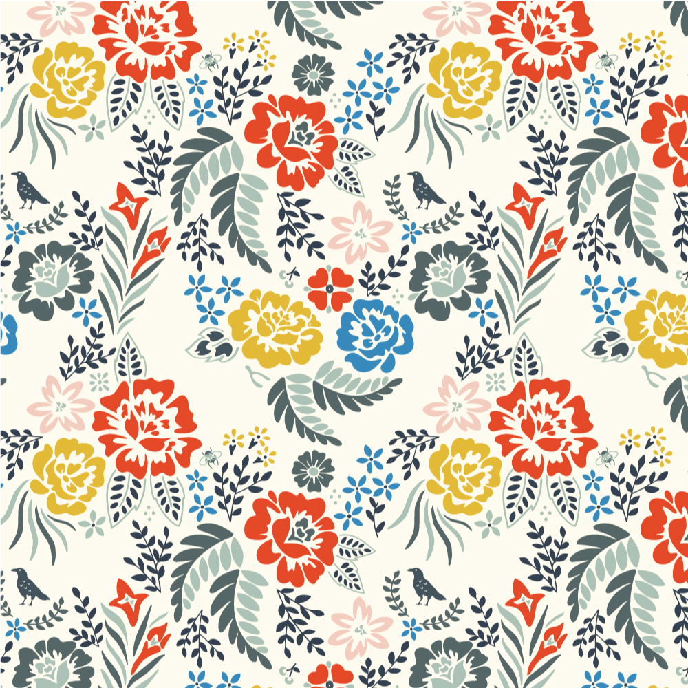 MERRY FLORAL in MULTI