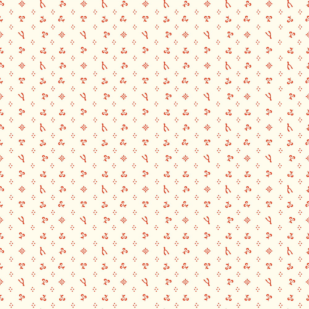 MERRYTHOUGHT in CREAM/RED