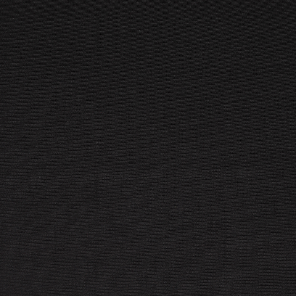 Soft Black Solid Poplin