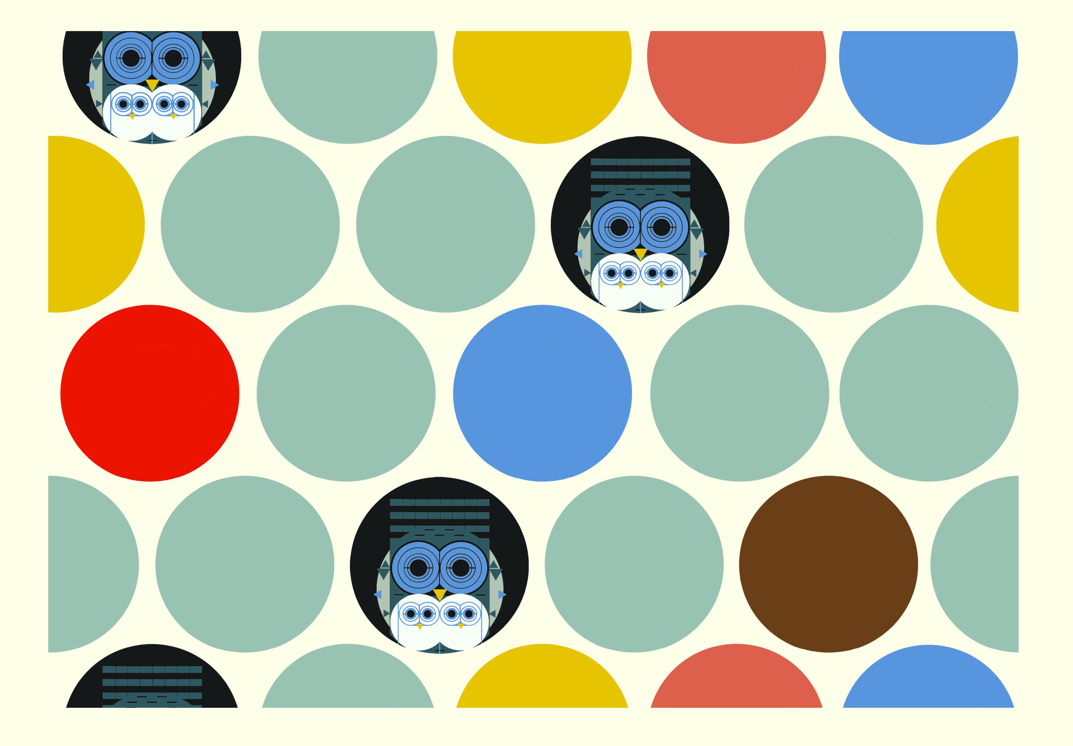 Family Owlbum Flannel