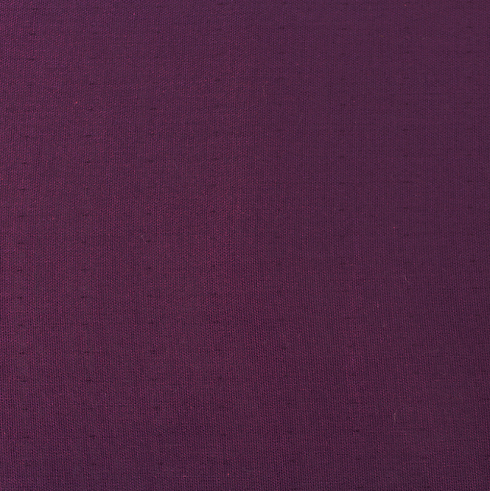 SOLID DOUBLE GAUZE in DARK PLUM