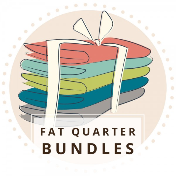 Kitty Garden Fat Quarter Bundle, 10 Total