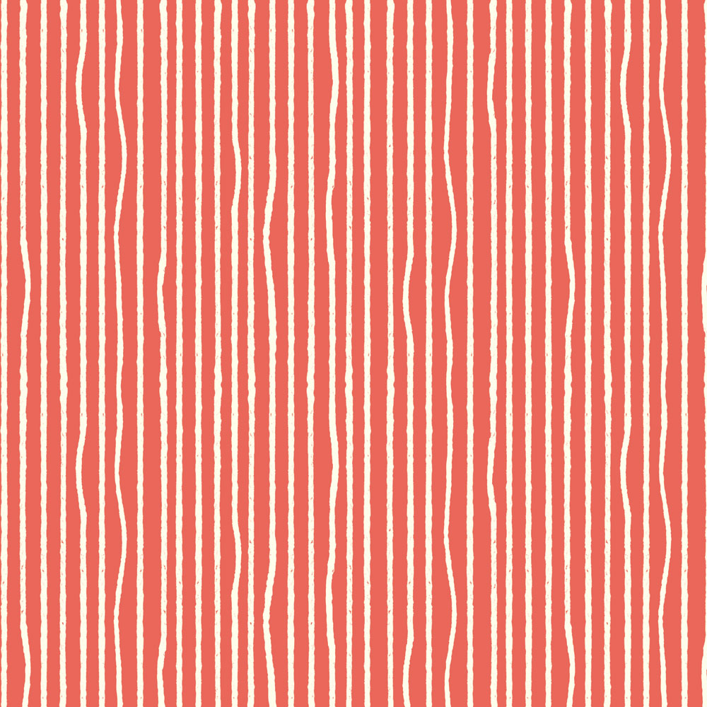 YARN STRIPE CORAL