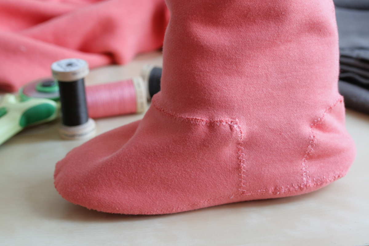 The Crafty Kitty | Fox and Bear, Organic Cotton, Fleece Wellie Liners