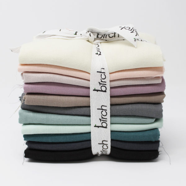 DOUBLE GAUZE PRE CUT FAT QUARTER BUNDLE | MUTED | 11 TOTAL