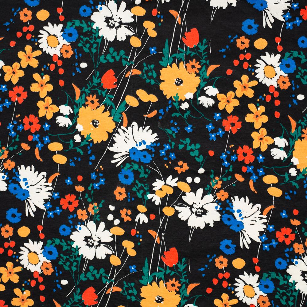 Flora Dark Jersey Knit
