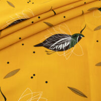 cats turkeys kangaroo packet Charley Harper Fabric Organic Cotton EZ Slide Bib full Apron mocking birds