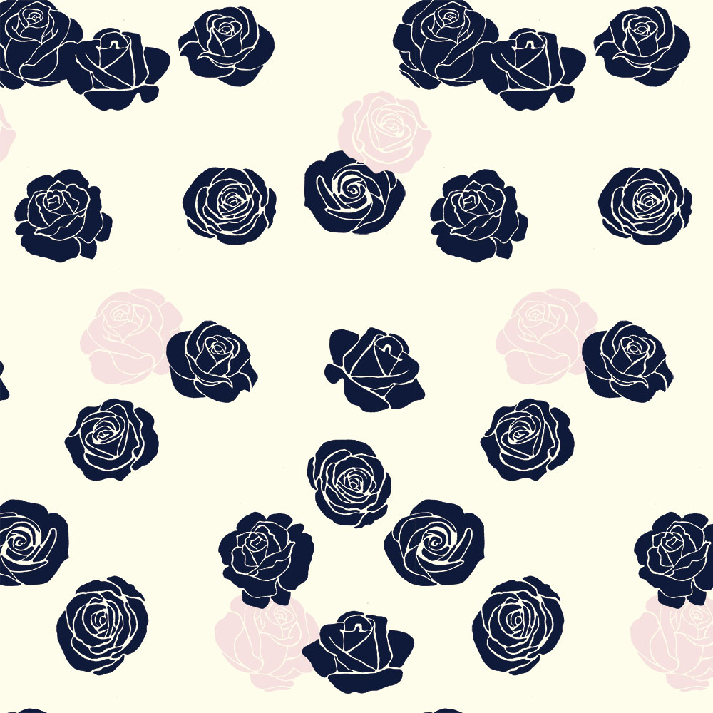 ROSES in BLUSH CANVAS