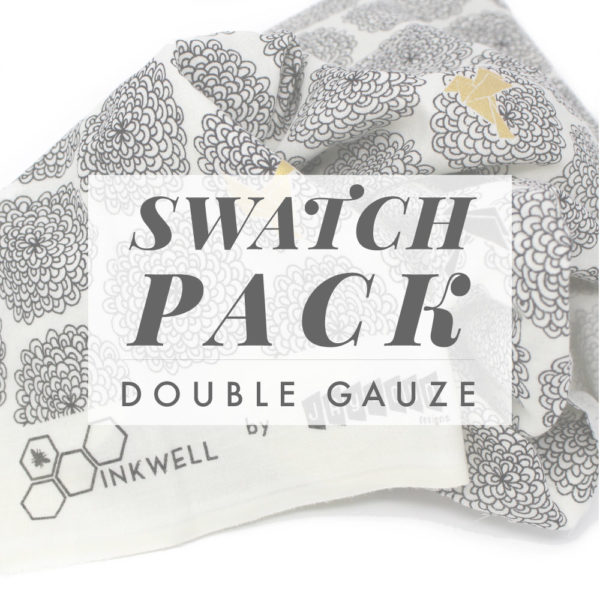 INKWELL DOUBLE GAUZE SWATCH PACK