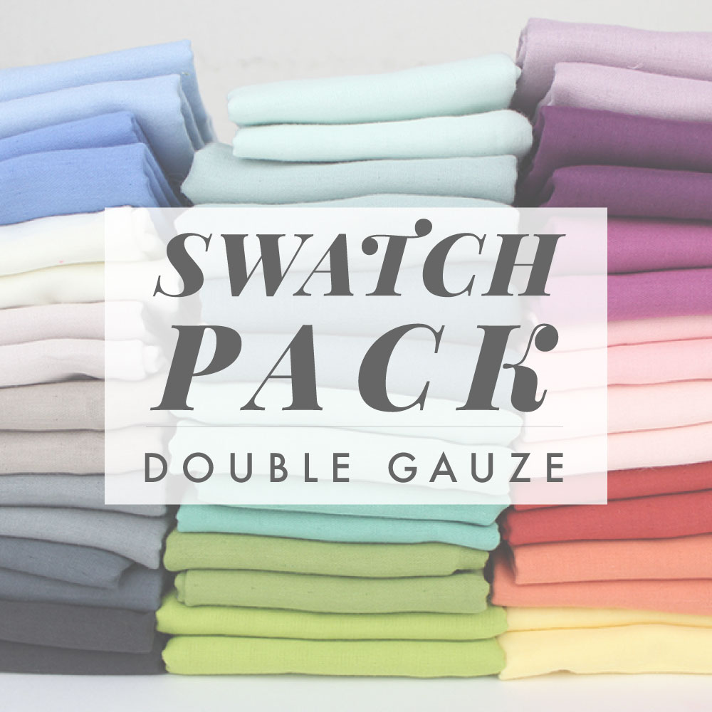 SOLID DOUBLE GAUZE SWATCH PACK
