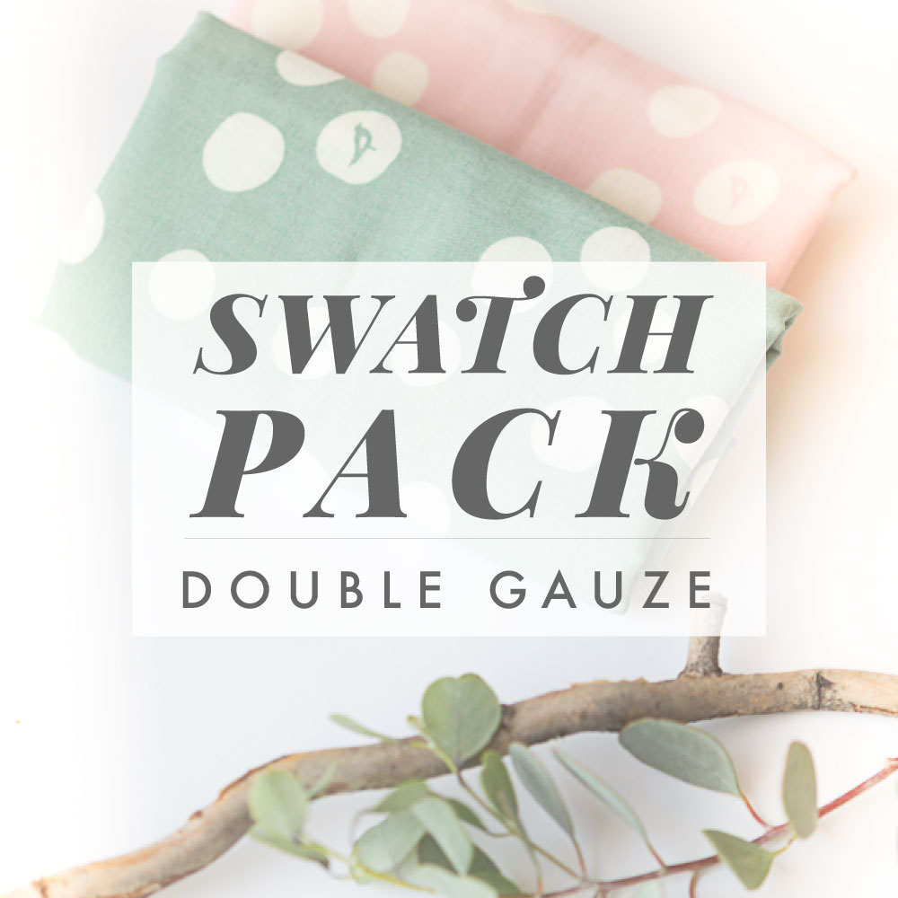 BIRCH BASIC DOUBLE GAUZE SWATCH PACK