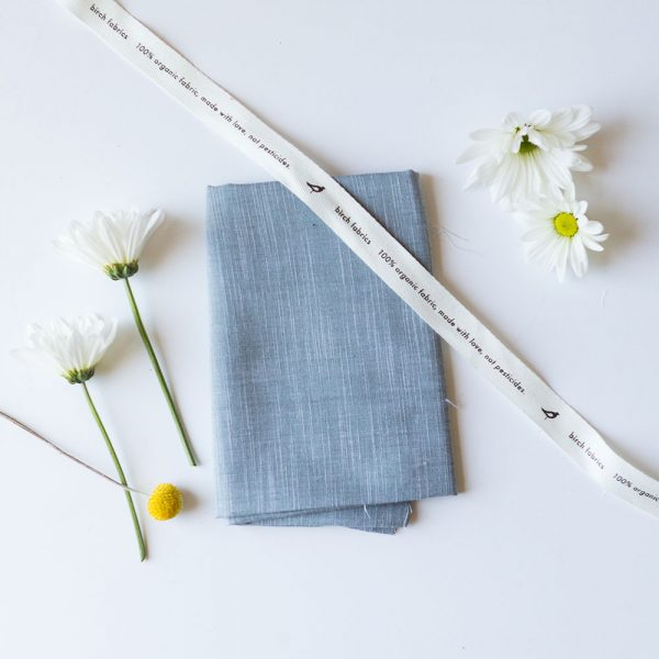 YARN DYED CHAMBRAY in SLATE