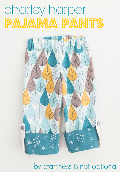 graphic relating to Printable Pajama Pants Pattern named Absolutely free PDF Routine Guideline: Charley Harper Flannel Pajama