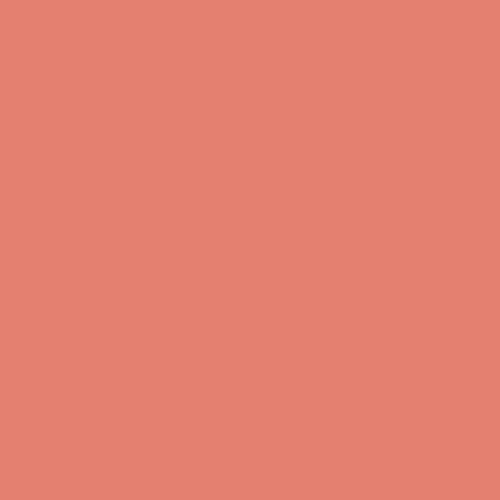 Coral Solid Poplin