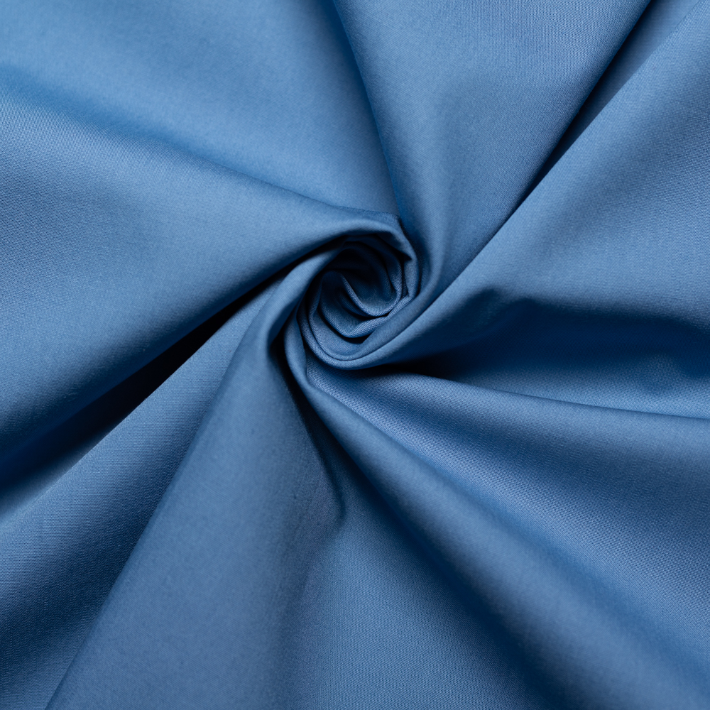 Blueberry Solid Poplin