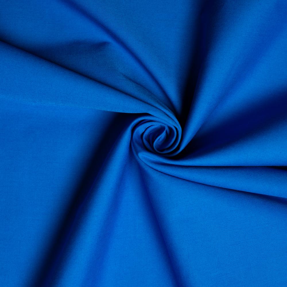 Azure Solid Poplin