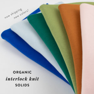 329bed7e177 Interlock Knit - Solids
