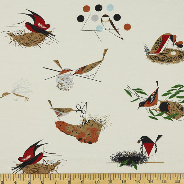BIRD ARCHITECTS MAIN BARKCLOTH