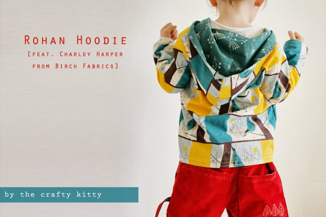 The Crafty Kitty | Rohan Hoodie Tutorial