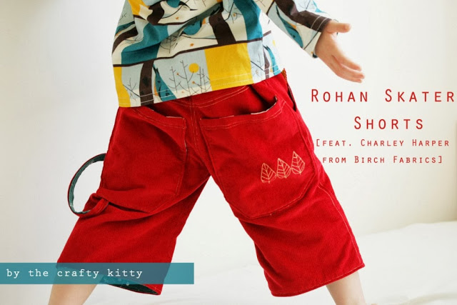 The Crafty Kitty | Rohan Skater Shorts Tutorial