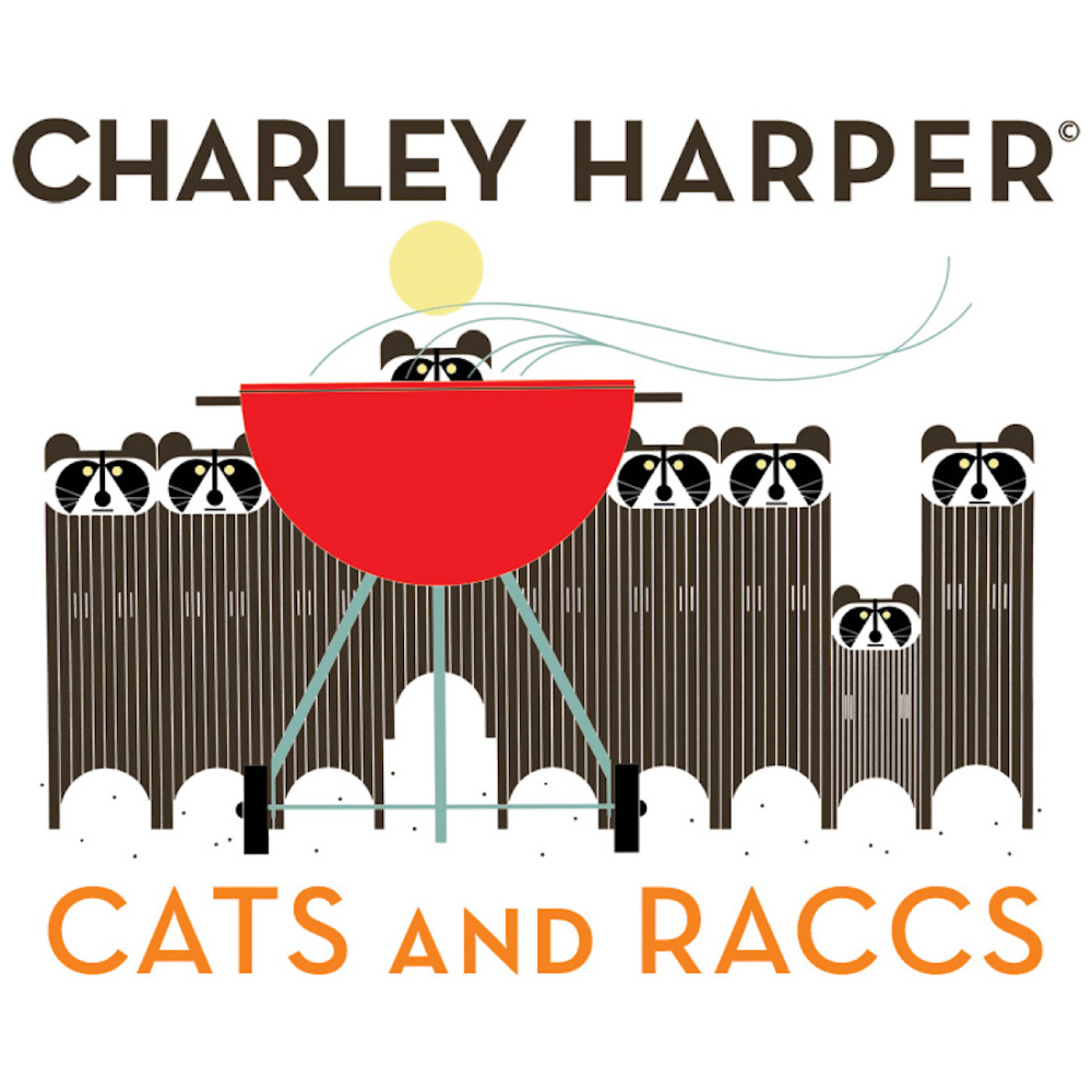 CHARLEY HARPER CATS & RACCS SWATCH PACK