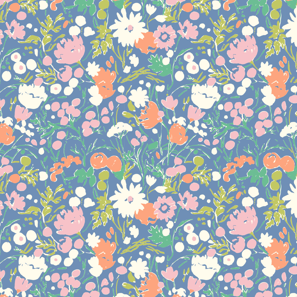 Wildflowers Afternoon Poplin