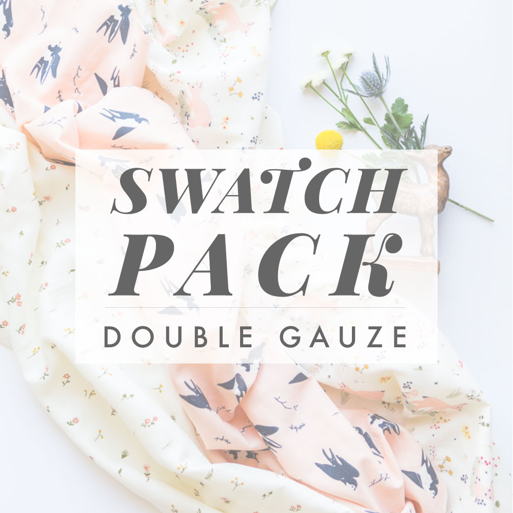 LITTLE DOUBLE GAUZE SWATCH PACK