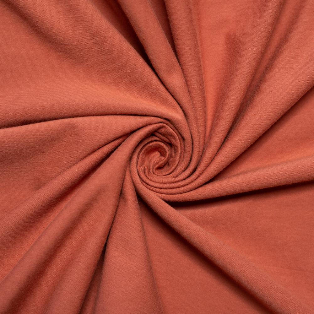 Apricot Brandy Jersey Knit Solid