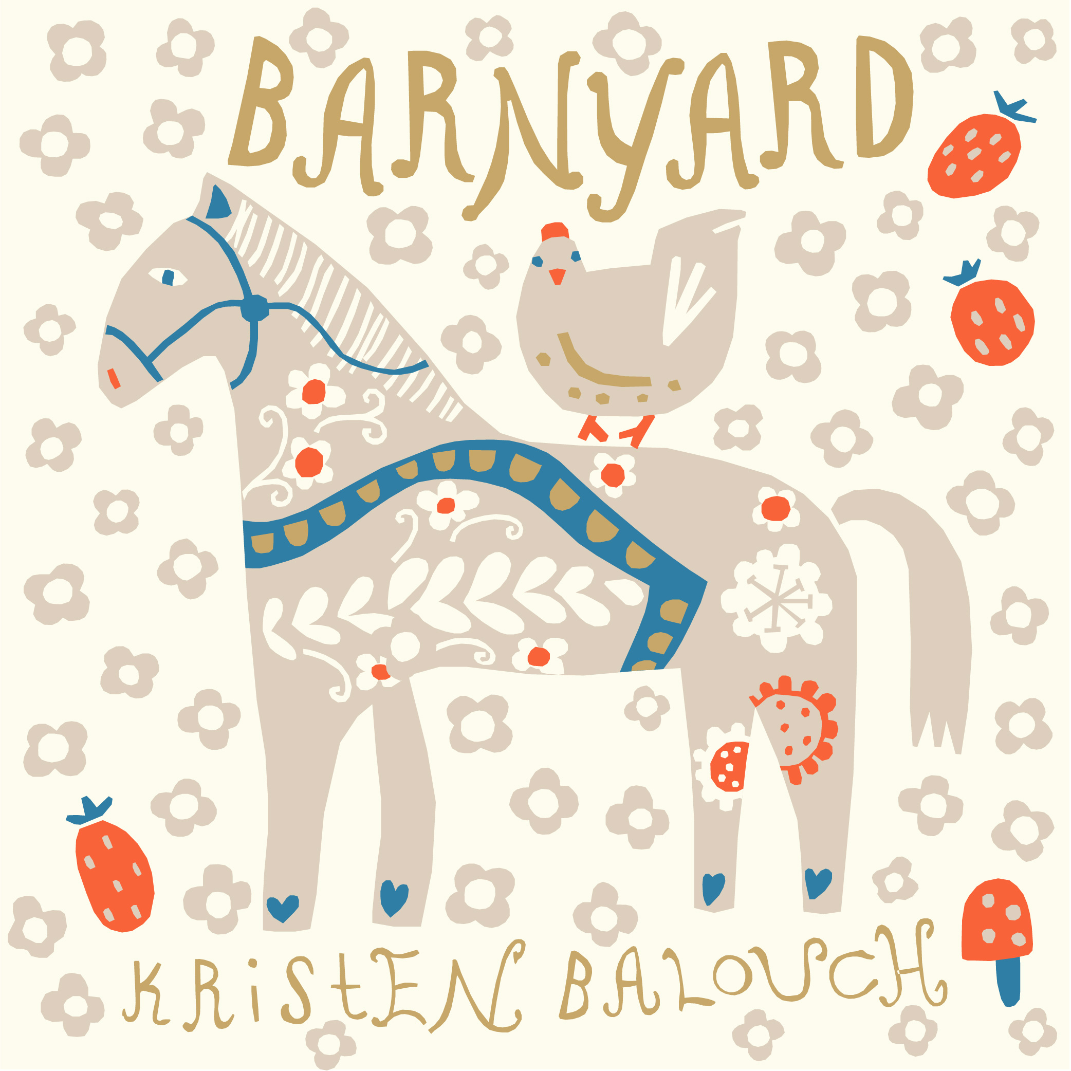 Barnyard by Kirsten Balouch Case Pack, 15 Yard Bolts