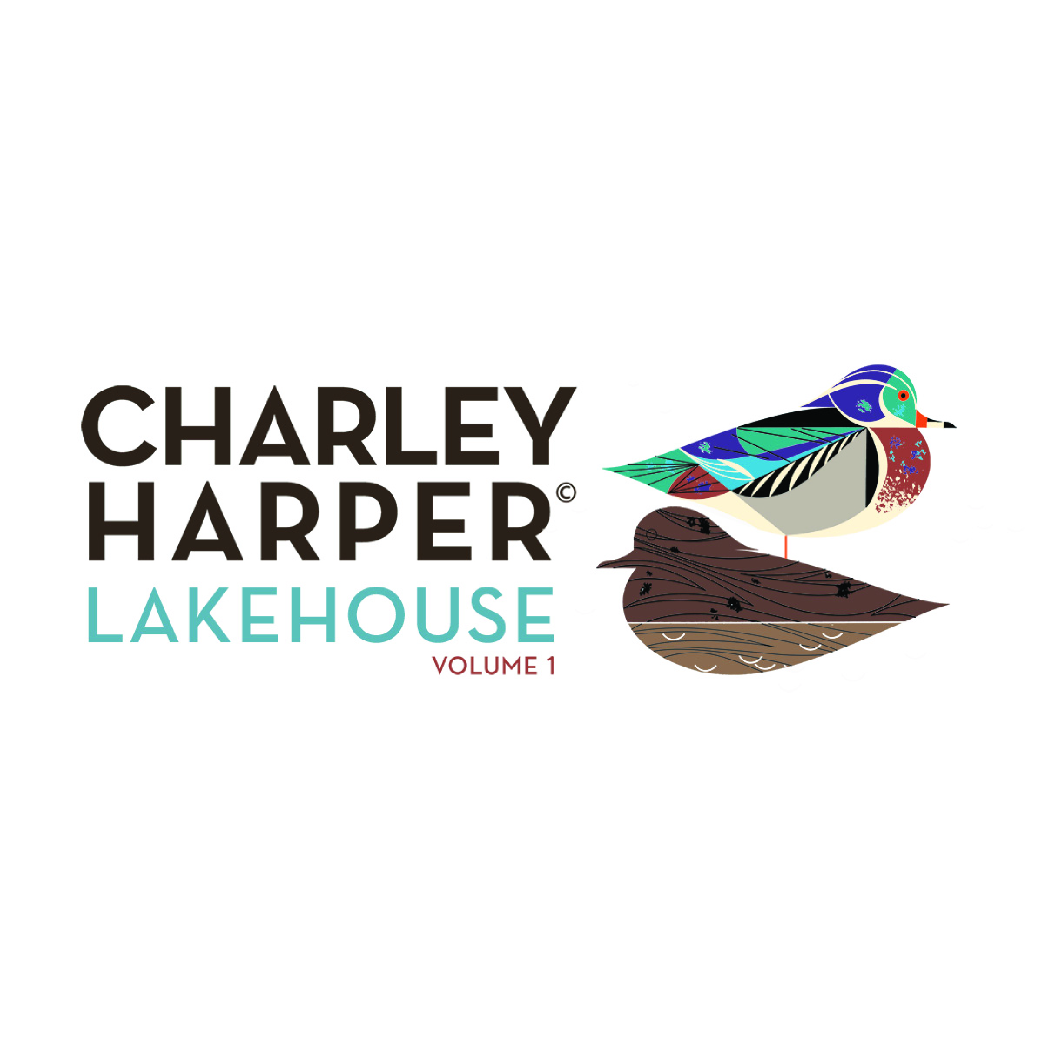 Charley Harper Lakehouse Vol. 1 Case Pack, 15 Yard Bolts