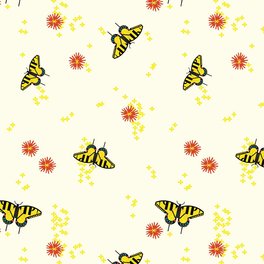 Butterfly View Poplin