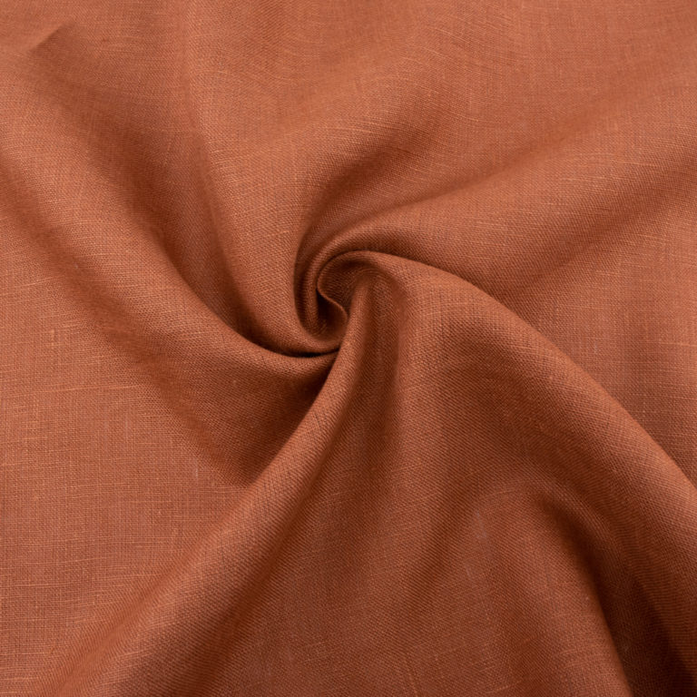 Apricot Brandy Solid Linen